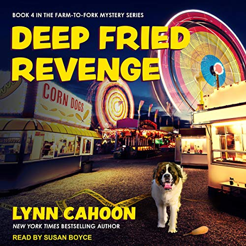 Deep Fried Revenge audiobook cover art