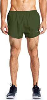 Men's Quick-Dry Lightweight Pace Running Shorts with Inner Pocket