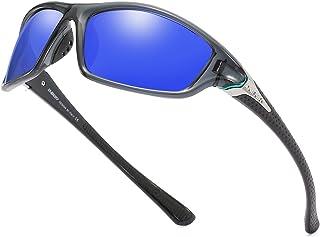 Mens Sports Polarized Sunglasses 100% UV Protection Driving Cycling Fishing Shades D120