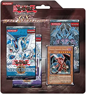 YuGiOh GX Card Game Generation Next SE Special Edition Pack [White Horned Dragon Card]