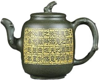 Teapots Yixing Handmade Teapot Original Ore Country Green Mud Boutique Tea Set Slim Craftsman Teapot Ceramic Teapot (Color : Republic of China Green Mud)