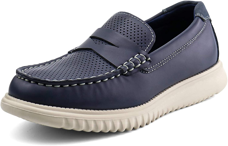 starmerx Boys Loafers Kids Casual Slip On School Shoes Girls Moccasin