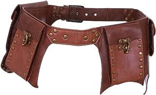 Gothic Nero Tasca Cintura ecopelle con Restyle abbigliamento