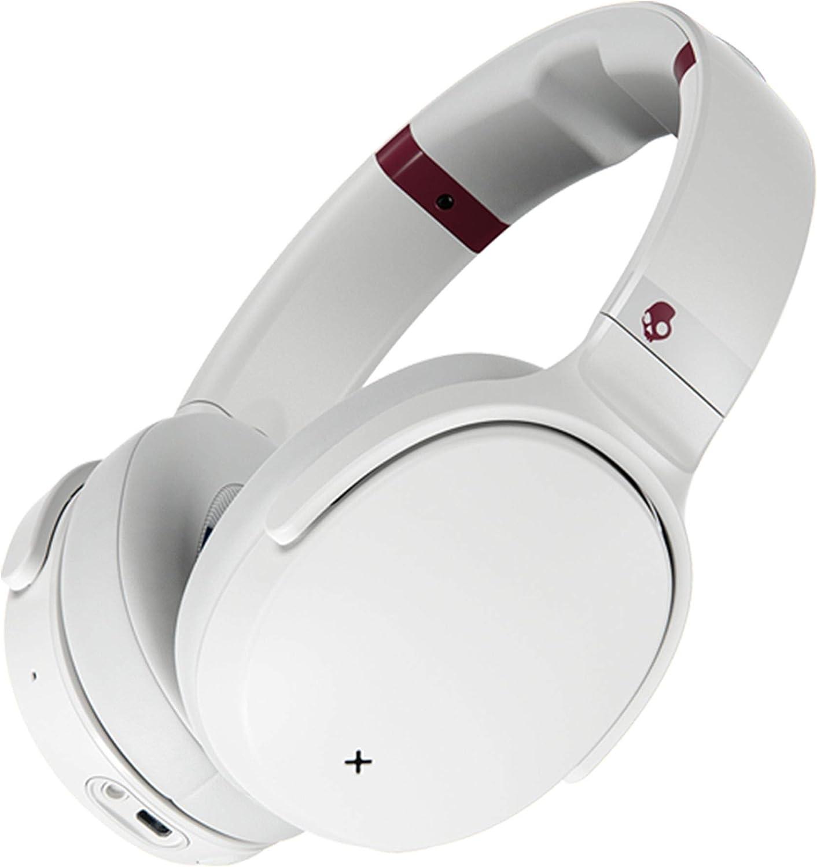 Skullcandy Venue Wireless ANC Quantity limited Over-Ear Japan Maker New White Crimson Headphone -
