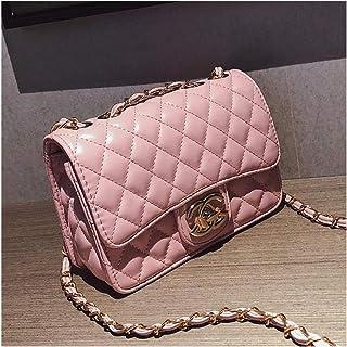 d7c788fef89a Purses and Handbags Flap Small Crossbody Bag Leboy Shoulder Bag for Girls  -Pink