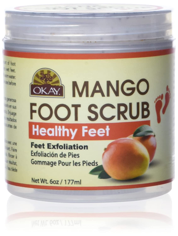 OKAY Nashville-Davidson Mall All Natural Nippon regular agency Mango Butter Ounce 6 Foot Scrub