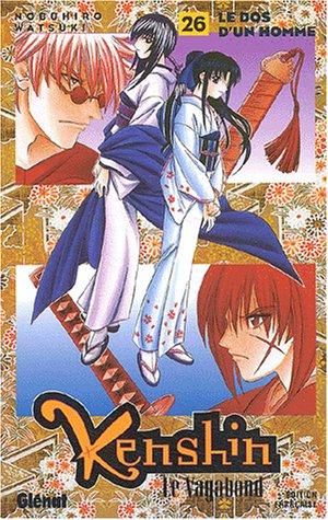 Kenshin le vagabond - Tome 26: Le Dos d'un homme