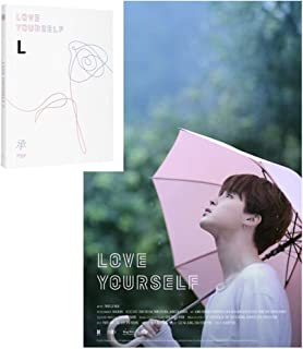 BTS - Love Yourself 承 [Her] [L ver.] with Photobook, Photocard, Official Folded Poster(L ver.), Extra photocard