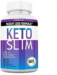 VegePower Keto Diet Pills–Extreme Keto Burn Fat Slim Fast–Boost Energy&Mental Focus&Better Sleep – goBHB Includes ACV Supplement for Women & Men–Advanced Carb Blocker Exogenous Ketones-30 Days' Supply