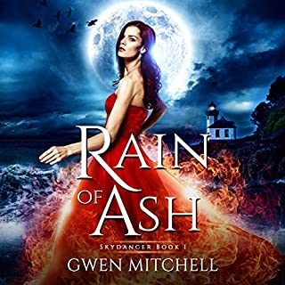 Rain of Ash: A Zyne Witch Urban Fantasy audiobook cover art