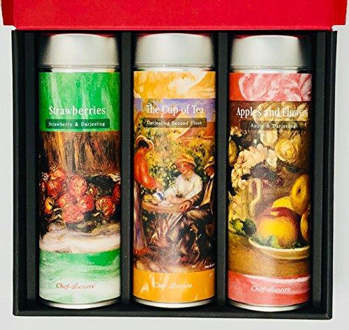 シェドゥーブル 紅茶 ギフト ルノワール アート コレクション Tea Gift Renoir Art Collection