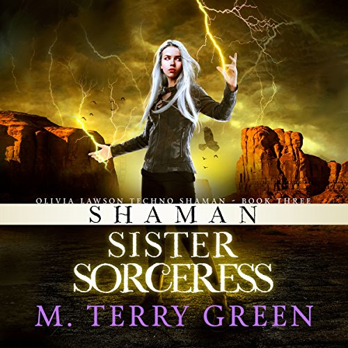 Shaman, Sister, Sorceress audiobook cover art