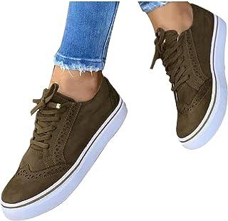 Low-Cut Sneaker Canvas Platte Schoenen Dames, golf Casual Schoenen Dames Zomer Herfst Trainers Lichtgewicht Ademende Wande...