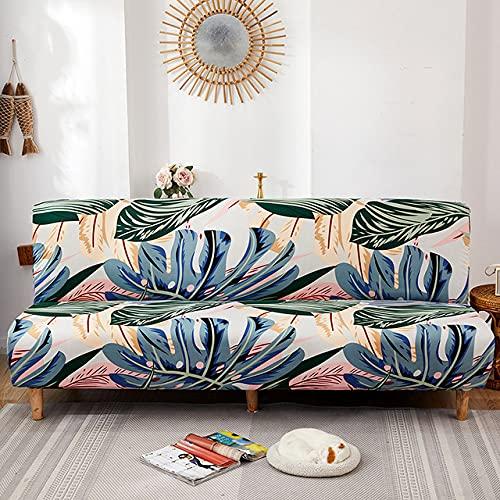 Funda para sofá Cama con Todo Incluido de 360 ° sin reposabrazos Plegable Cuatro Estaciones Funda elástica Universal para Sala de Estar Funda para sofá-6249-1,150-190cm