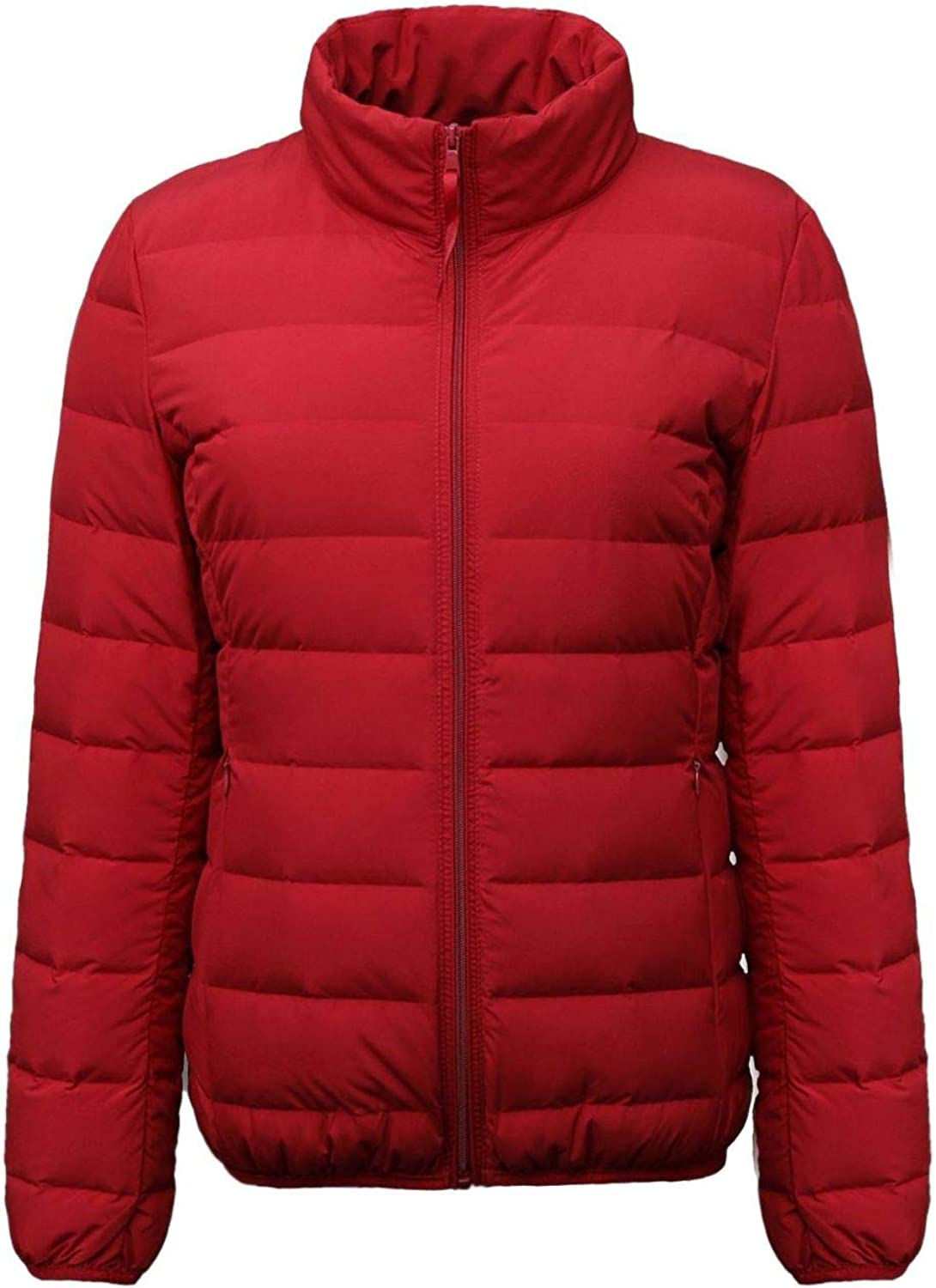 Women's Padding Down Jacket,Hooded Quilted Coat Lightweight Winter Coat with Pocket