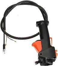 Gapapaen Interruptor de la Palanca del Acelerador Control Derecho para desbrozadora Cortadora de c/ésped Cortadora de c/ésped