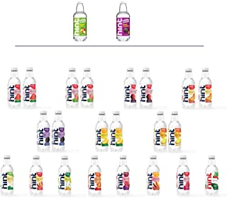 Hint Water Discovery Pack, 24 bottles including 17 Different Flavors (15 Caffeine Free, 2 Caffeinated), Zer...