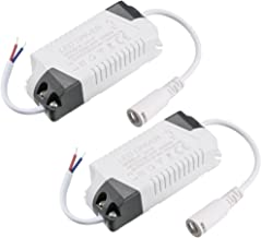 uxcell LED Driver 8-12W Constant Current 300mA High Power AC 85-265V Output 24-46V DC Connector External Power Supply LED ...