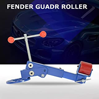 Heavy Duty Fender Roller Tool Reforming Extending Auto Body Wheel Arch Roller Lip Flaring Former for Automobile Maintenance, Blue