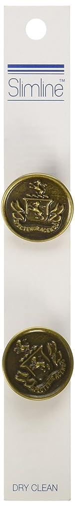 Blumenthal Lansing Slimline Buttons Series 2-Gold Crest Shank 7/8