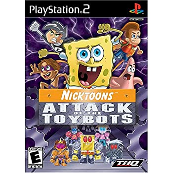 Nicktoons  Attack of the Toybots - PlayStation 2