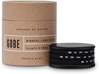 Gobe 43mm Star Filter Kit: 4 Points, 6 Points, 8 Points (2Peak)