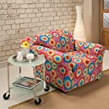 Madison Jersey Chair Slipcover, Tie Dye