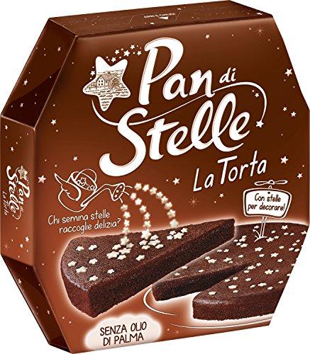 Molino Bianco Pan di Stelle - Tarta de chocolate italiano (435 g)