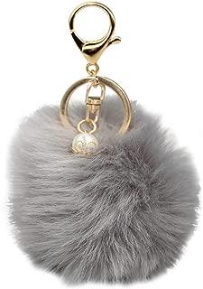 COAFIT Key Chain Pom Pom Handbag Pendant Purse Charm Cell Phone Charm