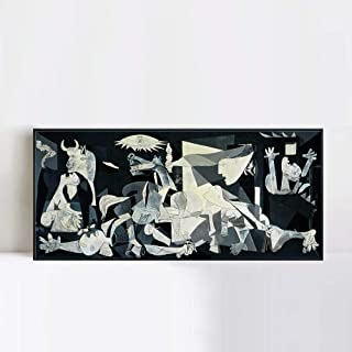 INVIN ART Framed Canvas Giclee Print Art Guernica by Pablo Picasso Wall Art (26