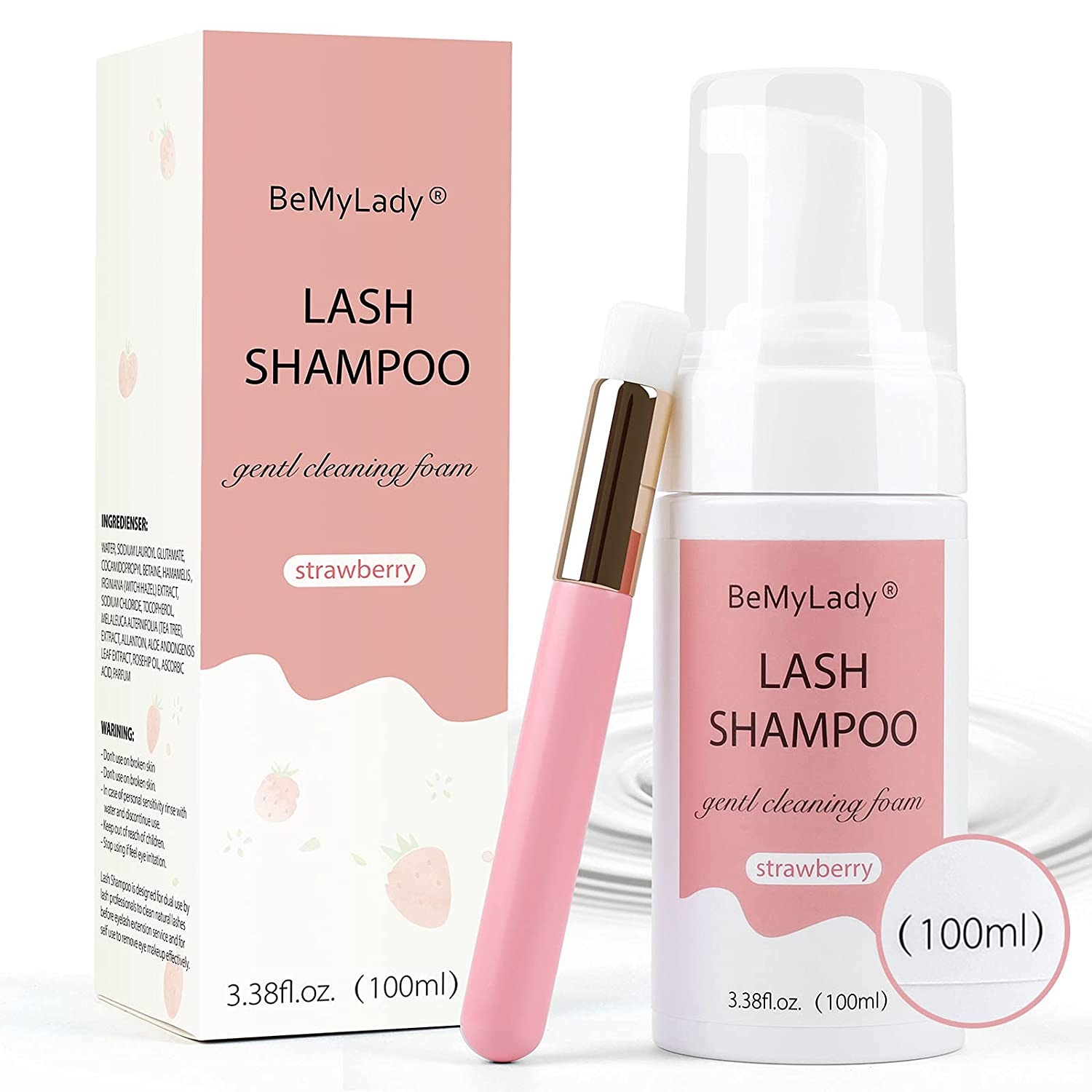 Eyelash Extension Shampoo Cleaner - Sales for Mail order cheap sale Solution 100ml False