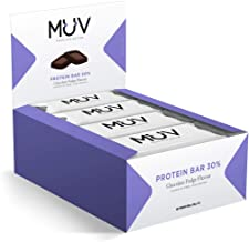 Muv Food For Action – Protein Bar Chocolate Fudge Flavour 12 x 30 g Estimated Price : £ 8,99