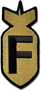Bastion Tactical Combat Badge Military Hook and Loop Badge Embroidered Morale Patch - F Bomb ACU