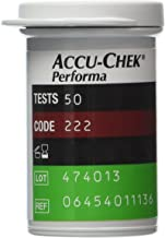 50 Accu Chek Performa / Performa Nano Test Strips Newest Release Very Long Expiration Dates