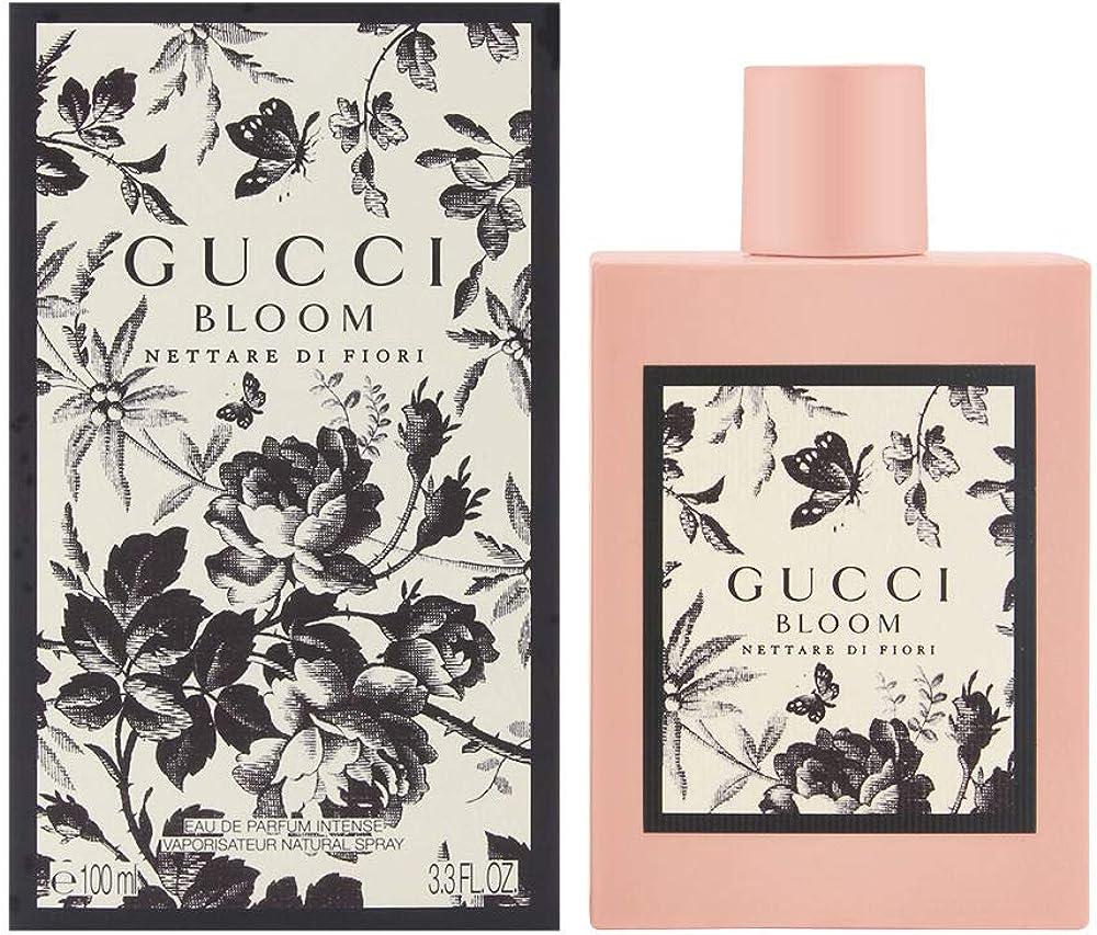 Gucci bloom nettare di fiori, eau de parfum intense per donna,100 ml 10008686