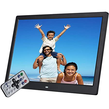EU schwarz MP4 Unterst/ützung f/ür MPEG 1080P HD RMVB Bewinner 17-Zoll-Digitalfotorahmen Home Decorated Frame, Clock Player AVI 1440 * 900 HD Slim-Multifunktions-Digitalrahmen
