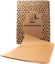 Papersaurus - Parchment Paper for Bakers - Non-Stick Precut Sheets - Food Grade - Oven Safe Sheet Pan Liner - Great for Ba...