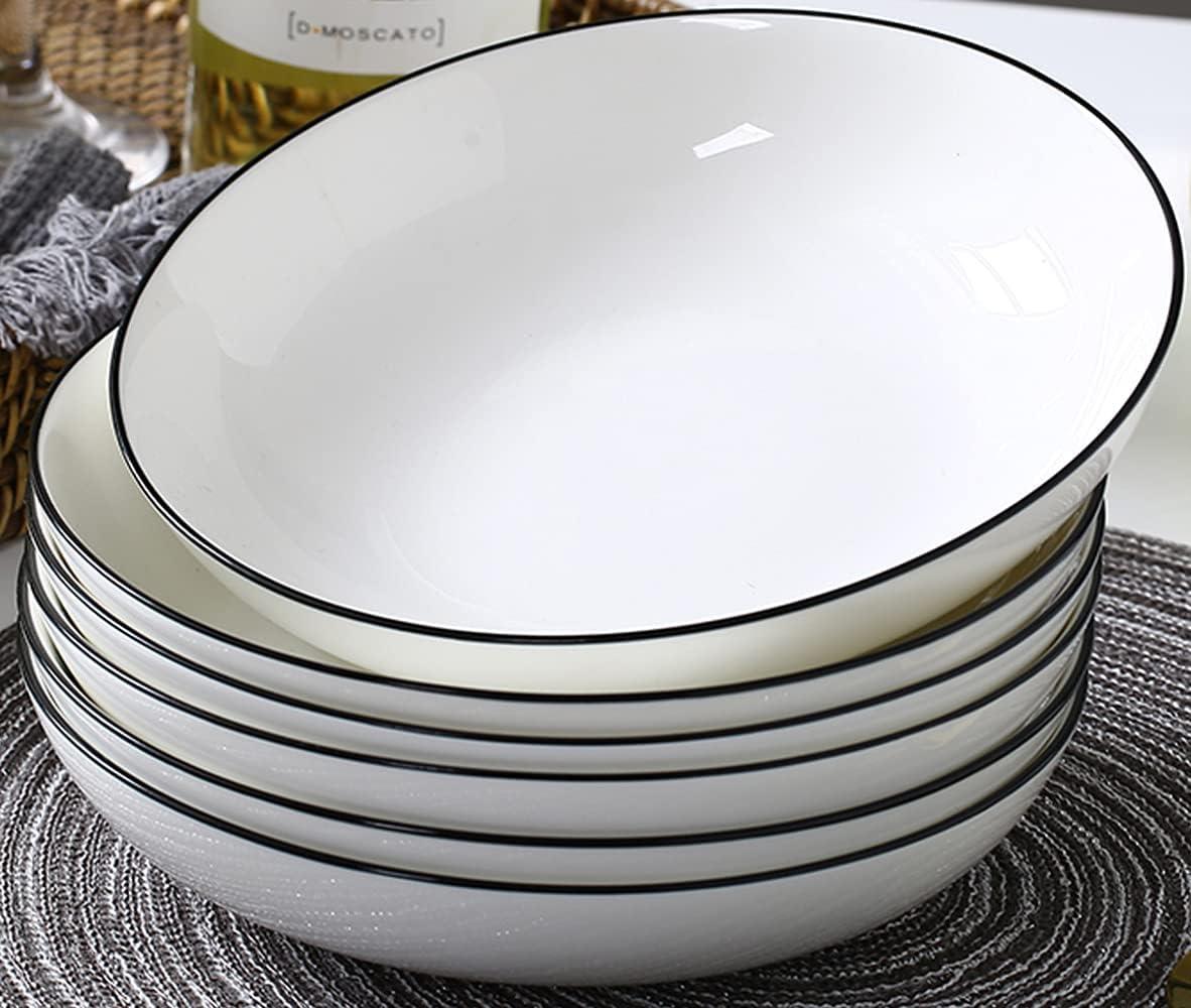 AnBnCn 65 Ounce Large Max 63% OFF Bowls Set 3+ oz 5% OFF of 30 Bowls-6 Pasta