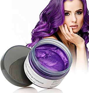 one time hair color wax