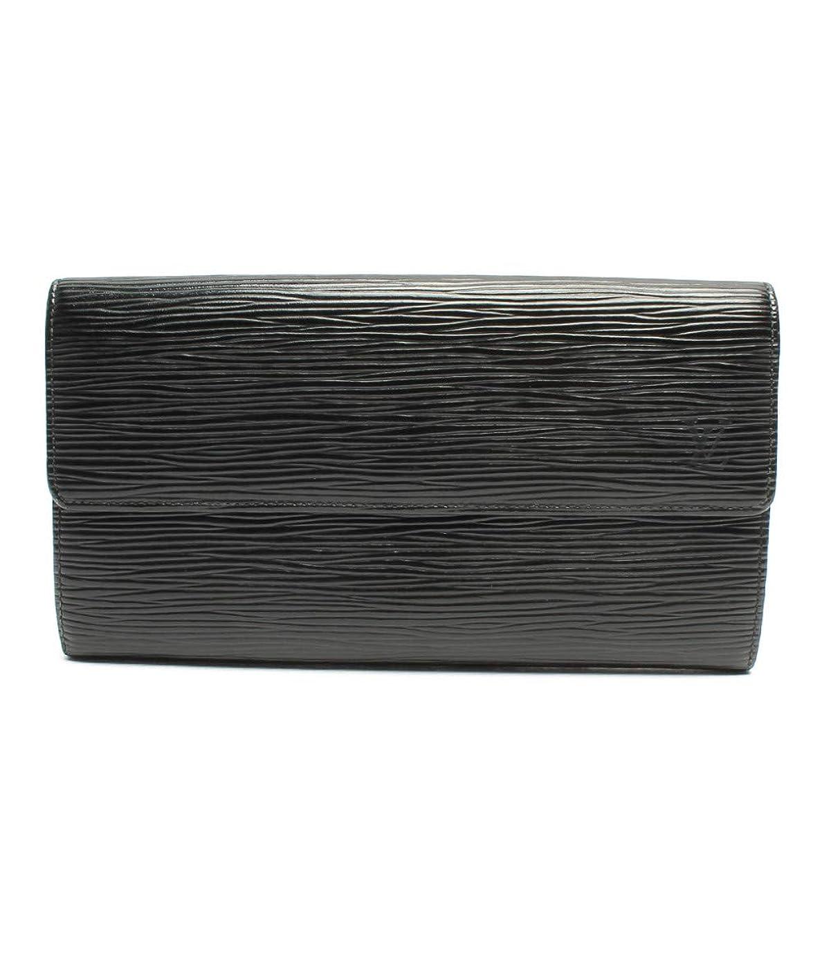 保証金保有者炭素ルイヴィトン ポルトモネクレディ長財布 エピ M63572 レディース Louis Vuitton 中古