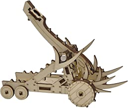 CZYY D&D Catapult Miniature Wood Laser Cut Fantasy Siege Weapon Wargaming Terrain Perfect for Dungeons & Dragons, Pathfinder, Warhammer and Other Tabletop RPG