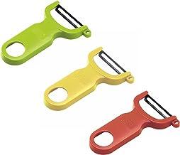 Kuhn Rikon Original Swiss Peeler 3-Pack Red/Green/Yellow