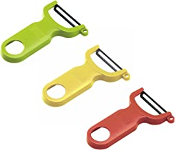 Kuhn Rikon Original Swiss Peeler 3-Pack Red/Green/Yellow