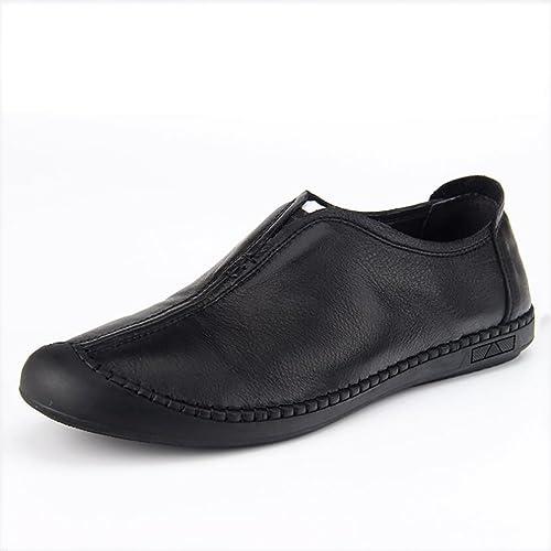 GFP 2018 Herren Lederschuhe, Loafers, Slip-on Loafers, Herrenmode Schuhe, Walking Fahr Schuhe, Bequeme Breathable Freizeitschuhe