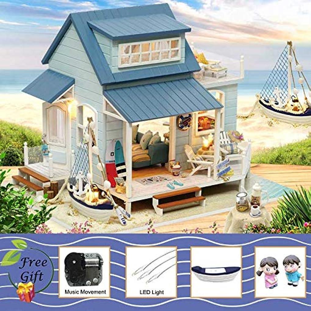 注目すべき呼びかける思い出させるドールハウス家具ミニチュアドールハウス diy のミニチュアハウスルームボックスシアターのおもちゃ子供カサ diy ドールハウス b,A37C,CHINA