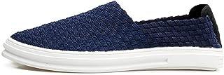 Shoes 靴 男性 運転 ローファー フラットヒール 快適 シューズ Comfortable (Color : 濃紺, サイズ : 25.5 CM)