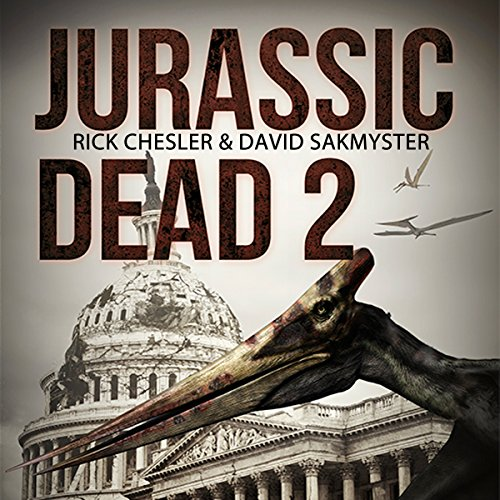 Jurassic Dead 2: Z-Volution audiobook cover art