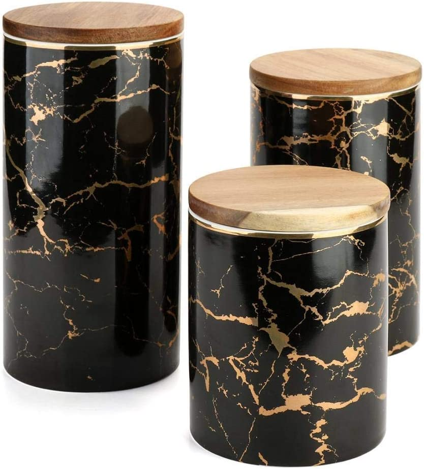 Food Storage Jar Ceramic Spring new work Kitchen Opening large release sale with Canisters B Seal Airtight