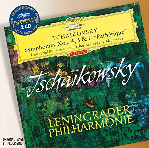 """Tchaikovsky: Symphonies Nos. 4, 5 & 6 """"Pathétique"""""""