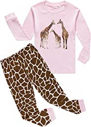 """ Girafe ""Pyjama Deux-pièce, graçons et Filles, 10"